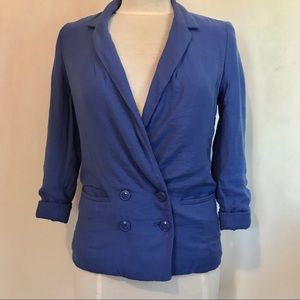LC LAUREN CONRAD blazer royal blue sz 2